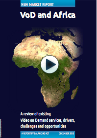 VoD in Africa Report cover