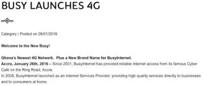 812 - BusyInternet Launches 4G