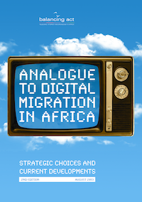 Audiovisuel 28 - Analogue to Digital Migration in Africa Report Cover