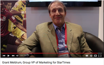 Audiovisuel 26 - Grant Meldrum, StarTimes Group
