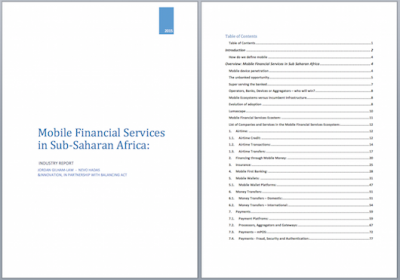 Mobile Financial Services in Sub-Saharan Africa: Industry Report (2015) - Image 3