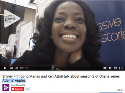 AudioVisuel 26 - YouTube | Shirley Frimpong Manso and Ken Attoh