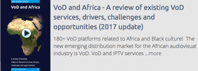 VoD and Africa - A review of existing VoD services, drivers