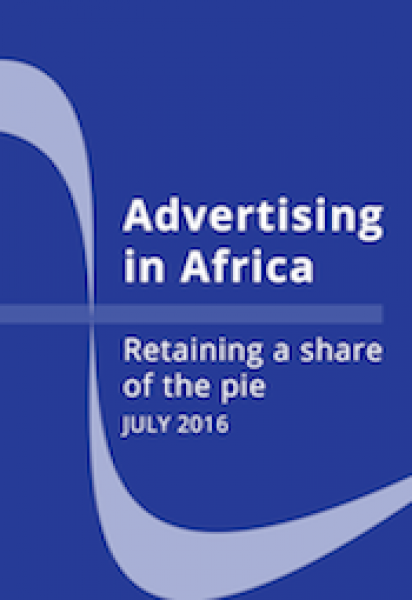 Advertising in Africa - Retaining a share of the pie (2016)