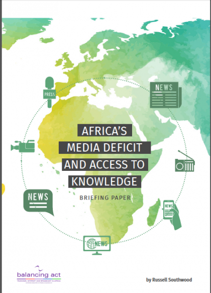 Africa's Media Deficit and Access to Knowledge