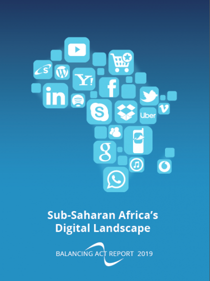 Sub-Saharan Africa's Digital Landscape and its Top 11 Markets – data prices, smartphones, digital content and services and e-commerce.