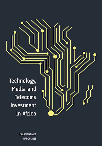 Investors in TMT (Technology, Media and Telecommunications) sectors in Africa (2016)